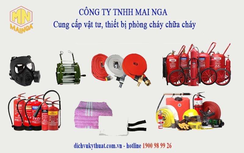 Dịch vụ kỹ thuật Thái Nguyên chuyên cung cấp vật tư thiết bị phòng cháy chữa cháy (PCCC)