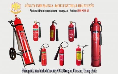 Bình chữa cháy co2