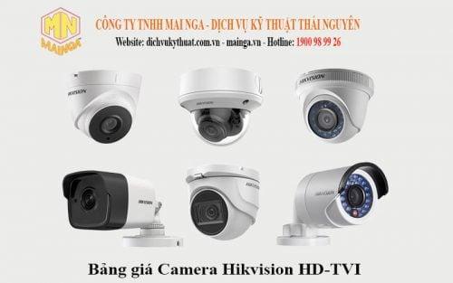 Camera Hikvision HD-TVI