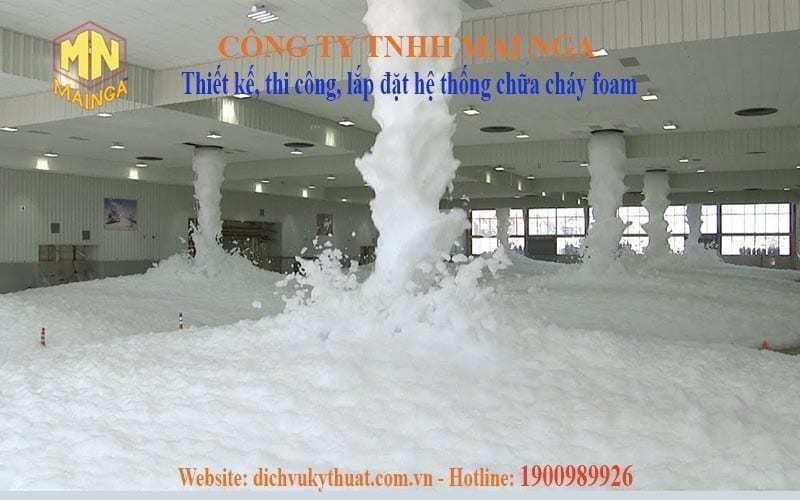 Dịch vụ kỹ thuật Thái Nguyên chuyên thiết kế thi công, lắp đặt hệ thống phòng cháy chữa cháy (PCCC), hệ thống chữa cháy foam