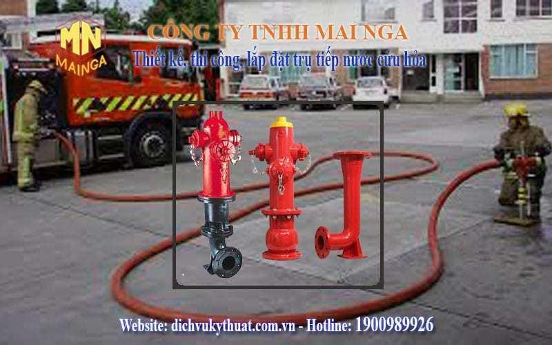Dịch vụ kỹ thuật Thái Nguyên chuyên thiết kế thi công, lắp đặt hệ thống phòng cháy chữa cháy (PCCC), trụ họng tiếp nước đô thị